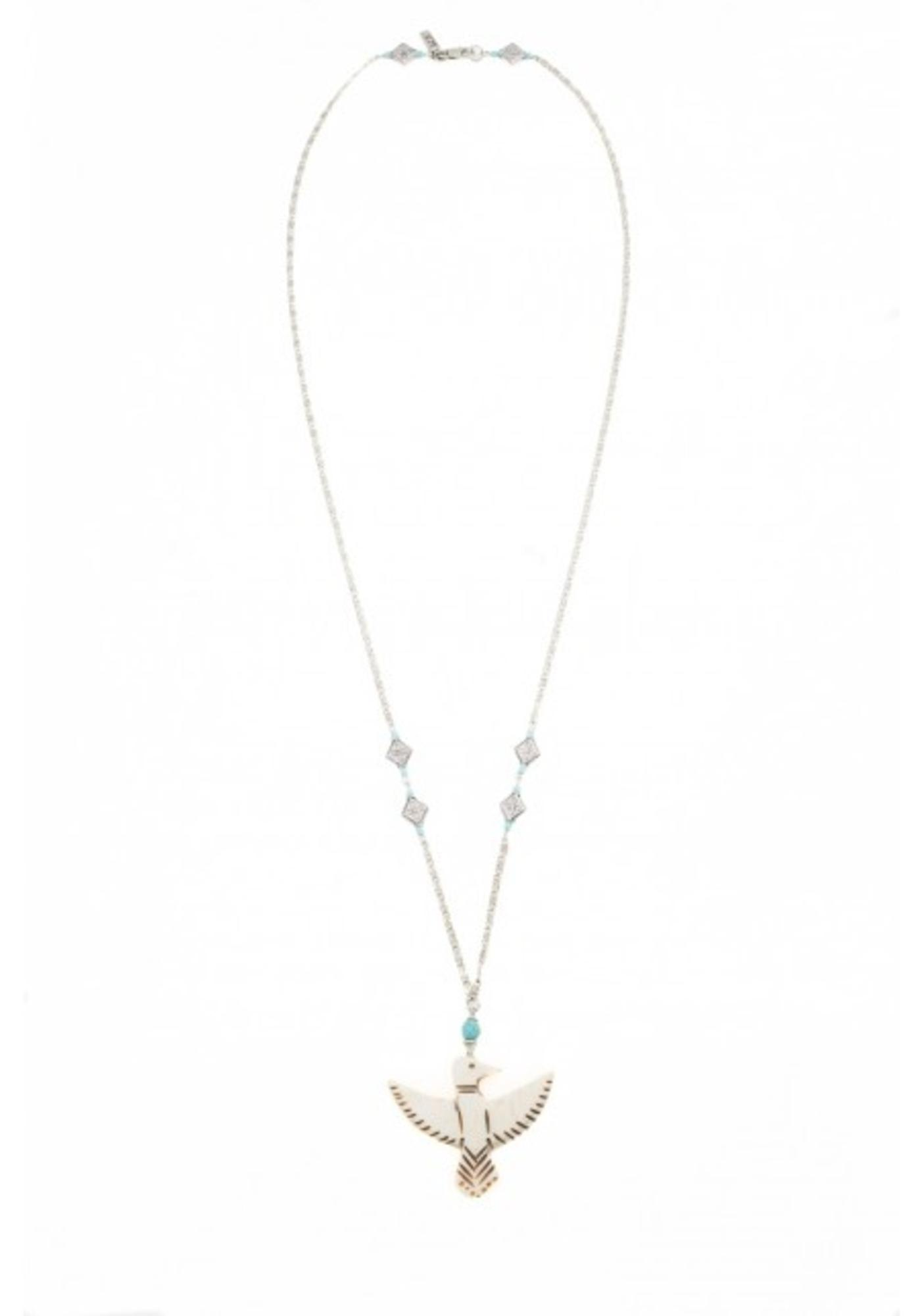 Vanessa Mooney The Mira Eagle Necklace