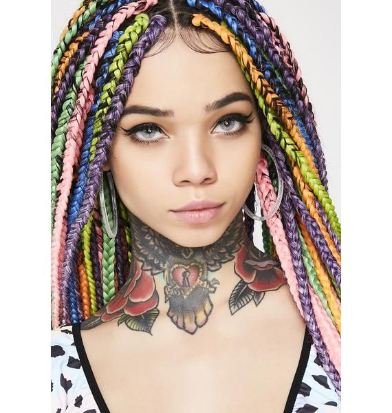 I'll Outsparkle Ya Hoop Earrings