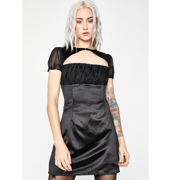 Got 'Em Thinking Mini Dress