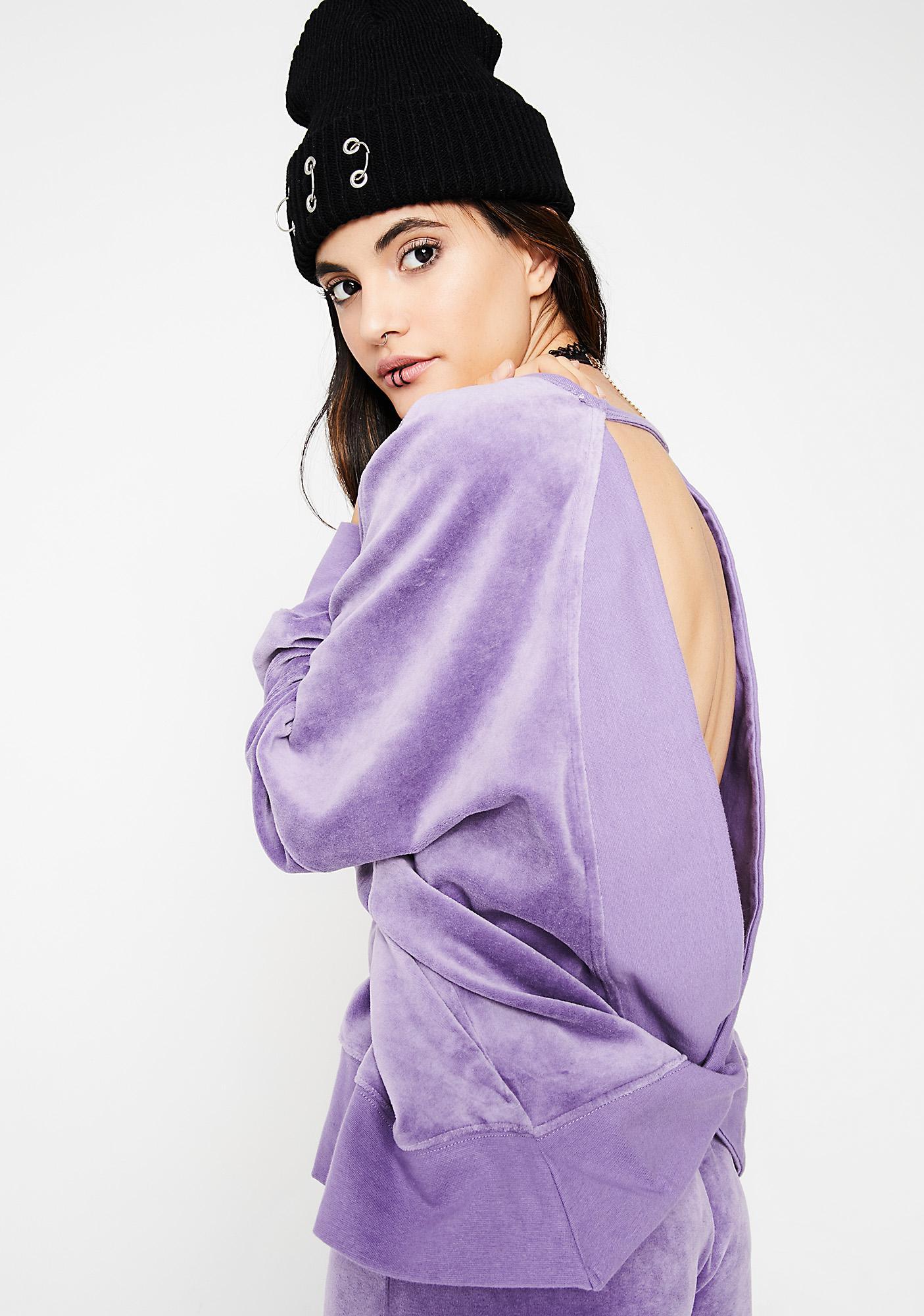 Mendocino Velour Sweatshirt