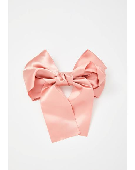 Can't Hurry Love Hair Bow