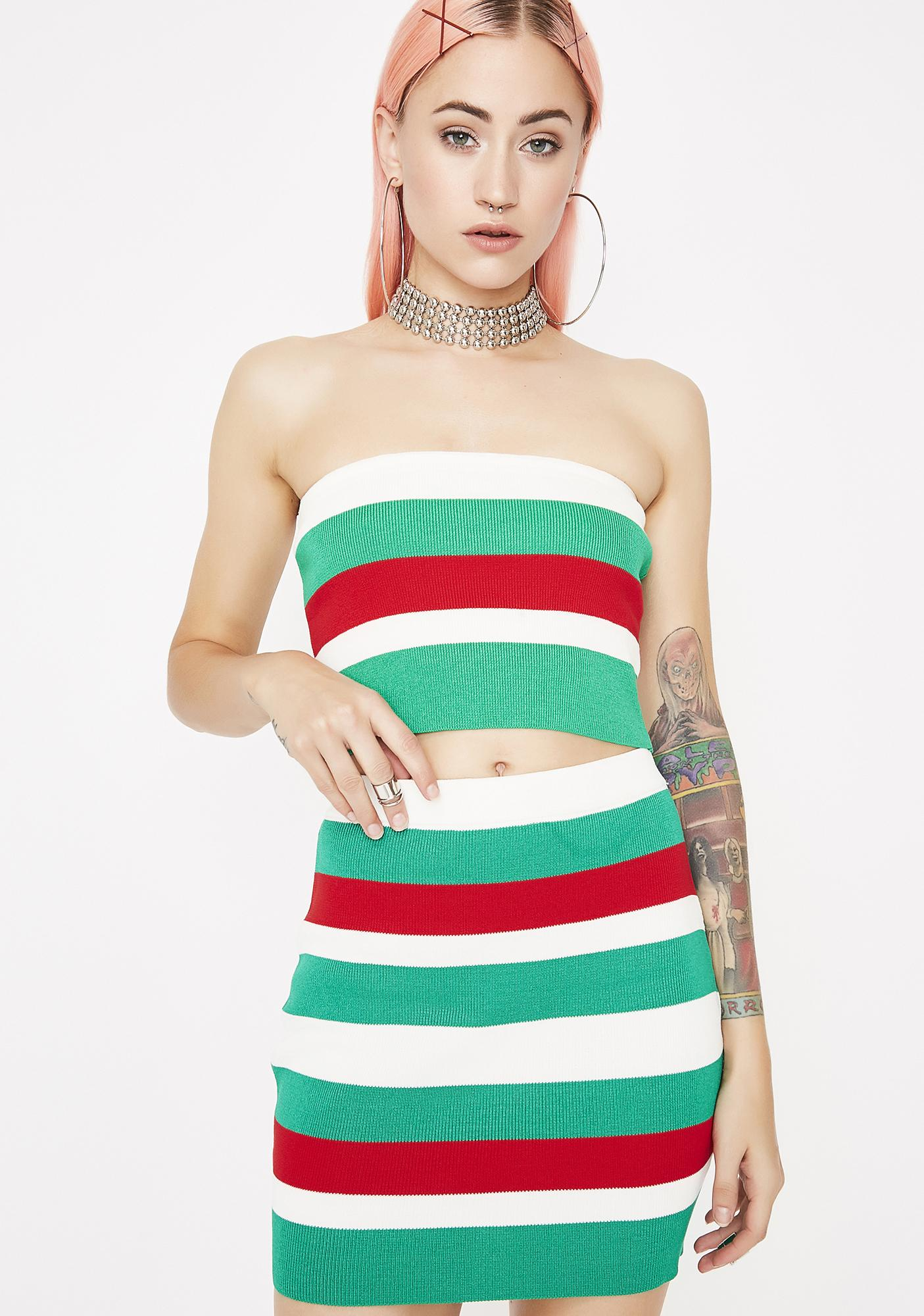 Vacation Mode Bodycon Set