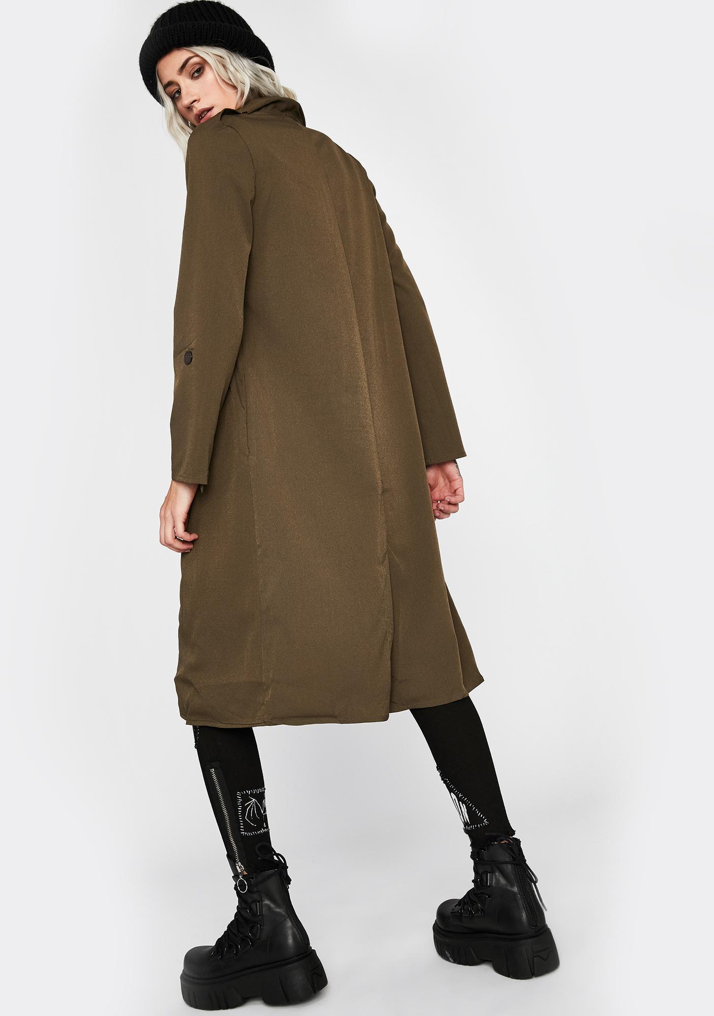 Reformed Rebel Trench Coat
