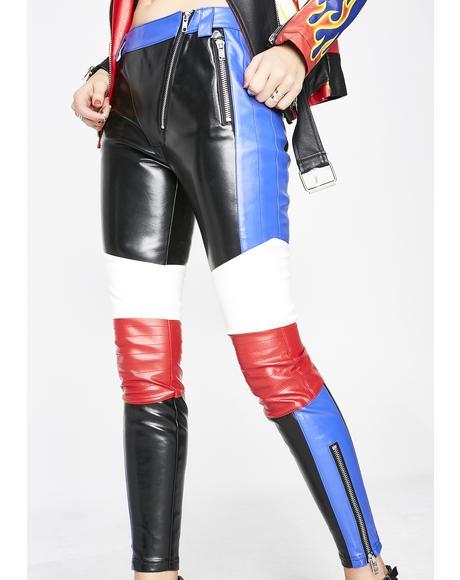 DK Raceway Moto Pants