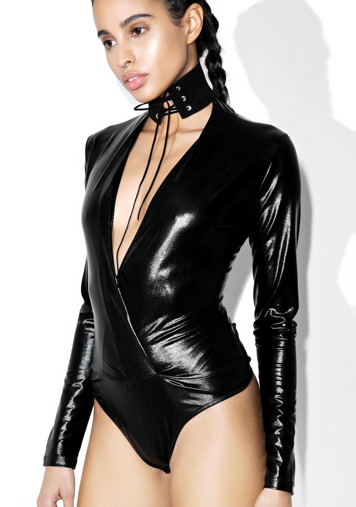 Milla Metallic Bodysuit