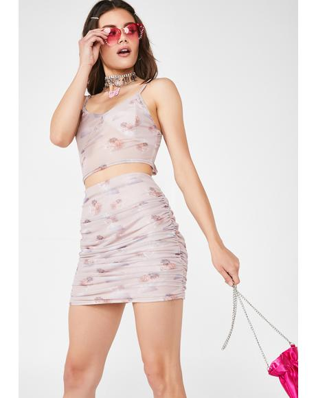 Cherub Mesh Skirt