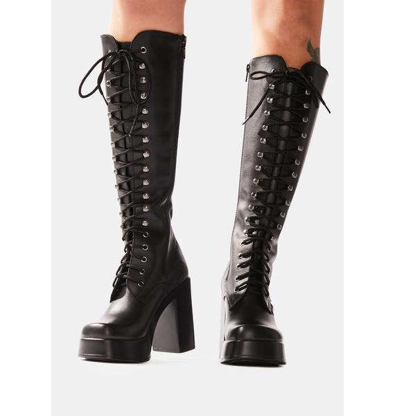 ROC Boots Australia Nirvana Leather Knee High Boots