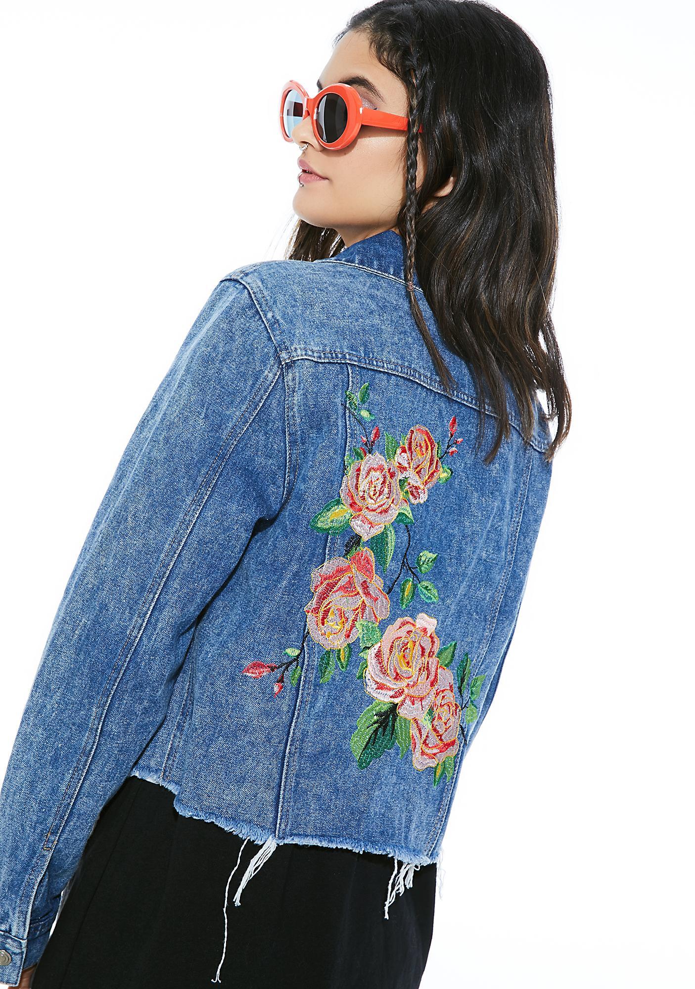 Sweet Sorrow Denim Jacket
