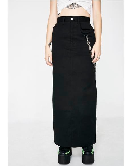 Fishermans Maxi Skirt
