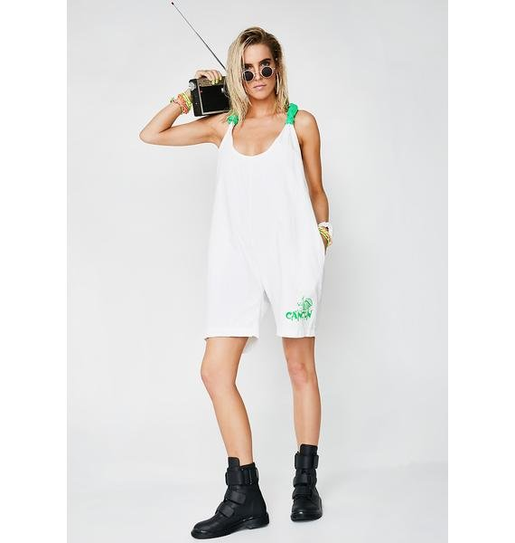 Vintage 90s Romper Beach Cover Up