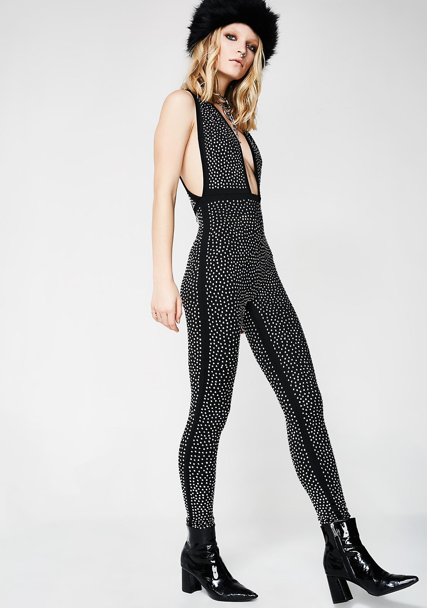 Crush Your Dreams Embellished Catsuit