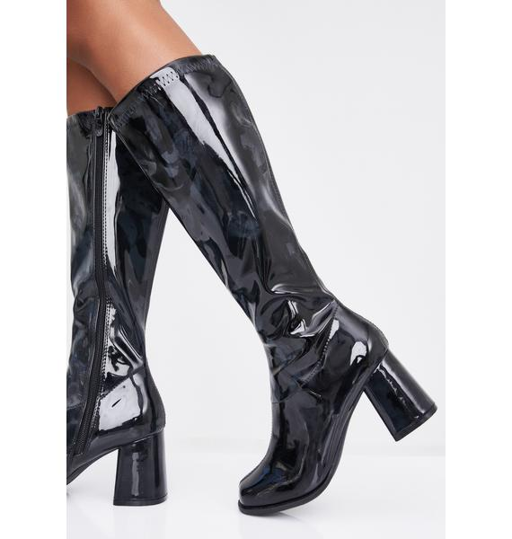 Nocturnal Go-Go Baby Boots
