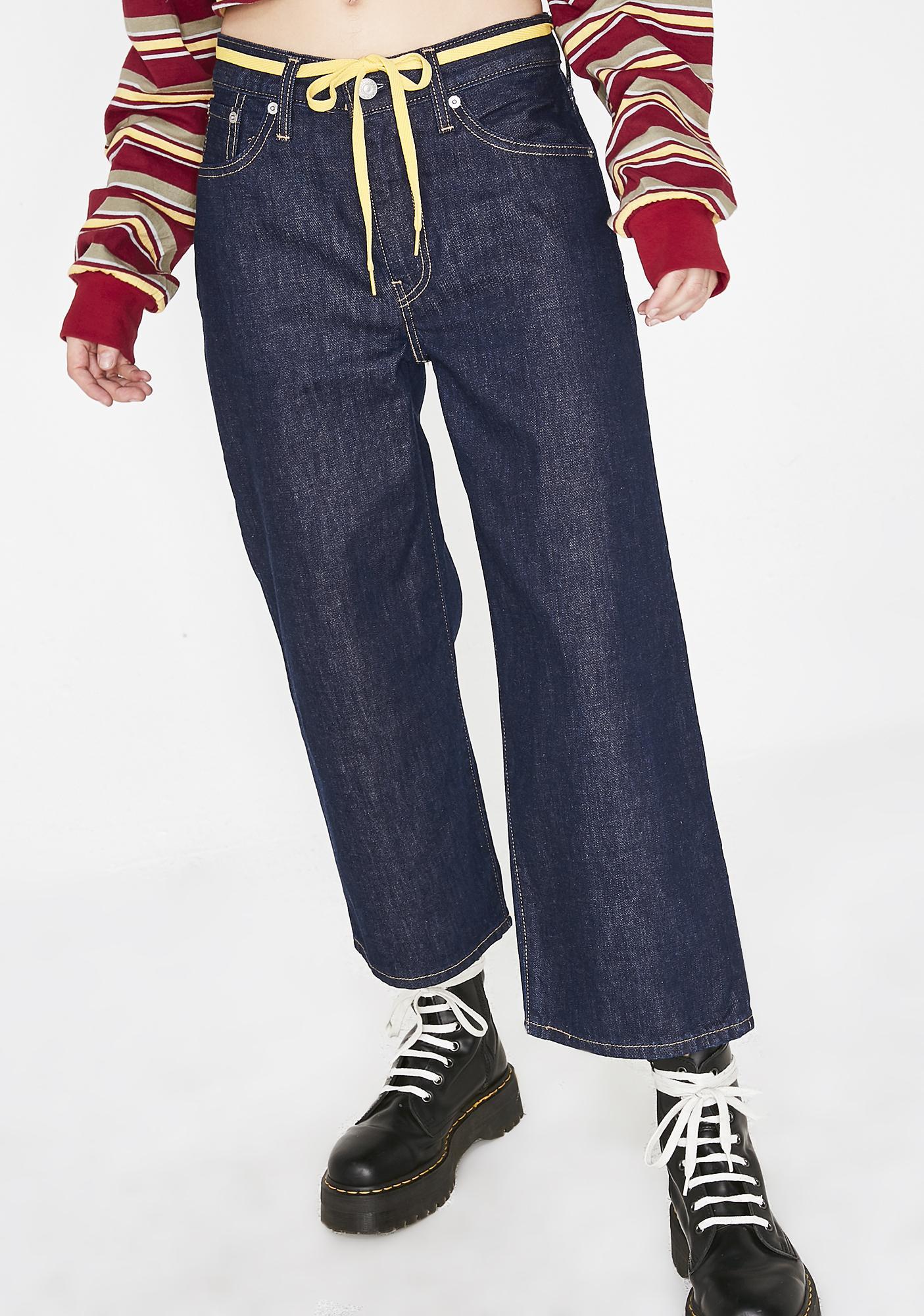 Levis Big Blue Jeans