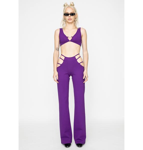 I AM GIA Purple Lucid Pants