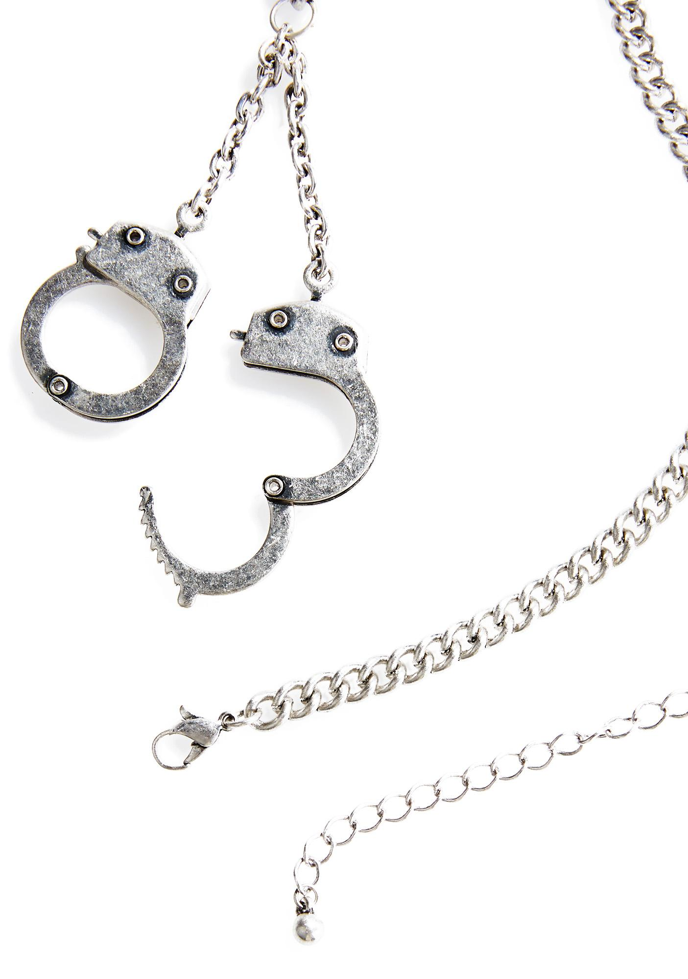 Locked Down Necklace