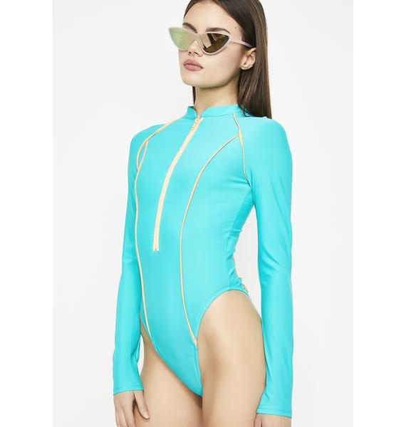 Ocean Dive In Scuba Bodysuit