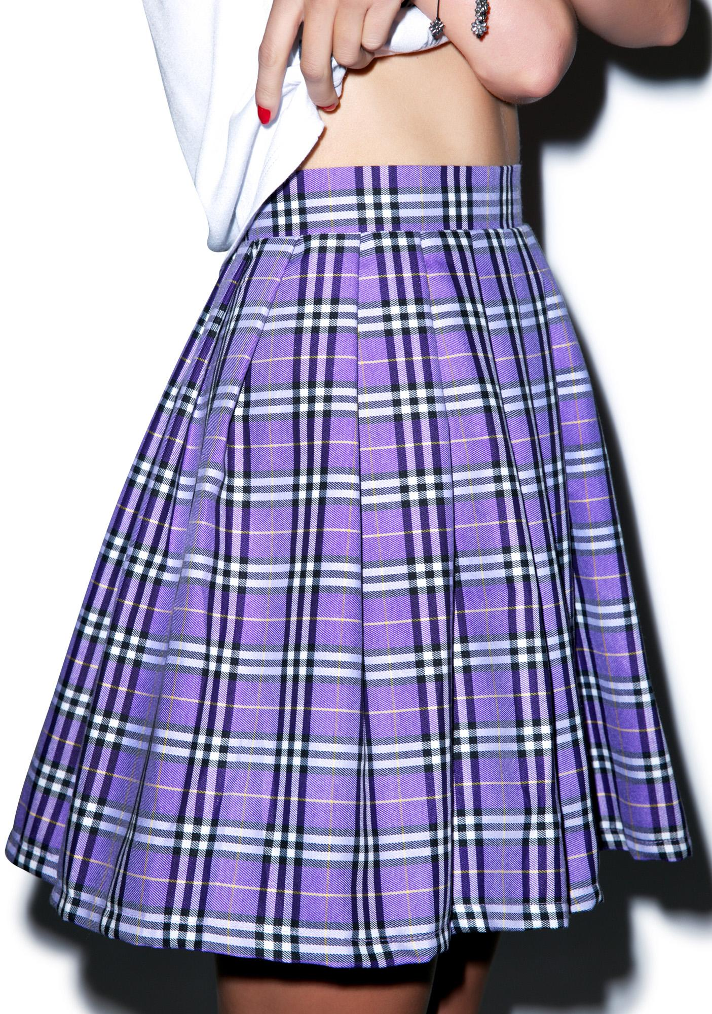 Reality Bites Plaid Skirt