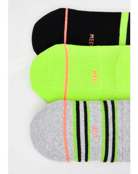 The Volt Super Three Pack Socks