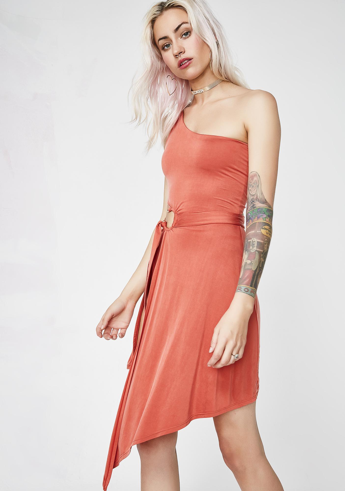 For Love & Lemons Sunset Aleja Midi Dress
