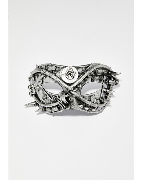Steel Existence Hardware Mask