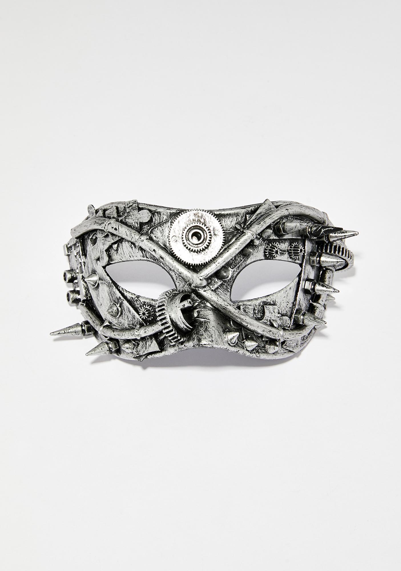 Steel Existence Hardware Mask