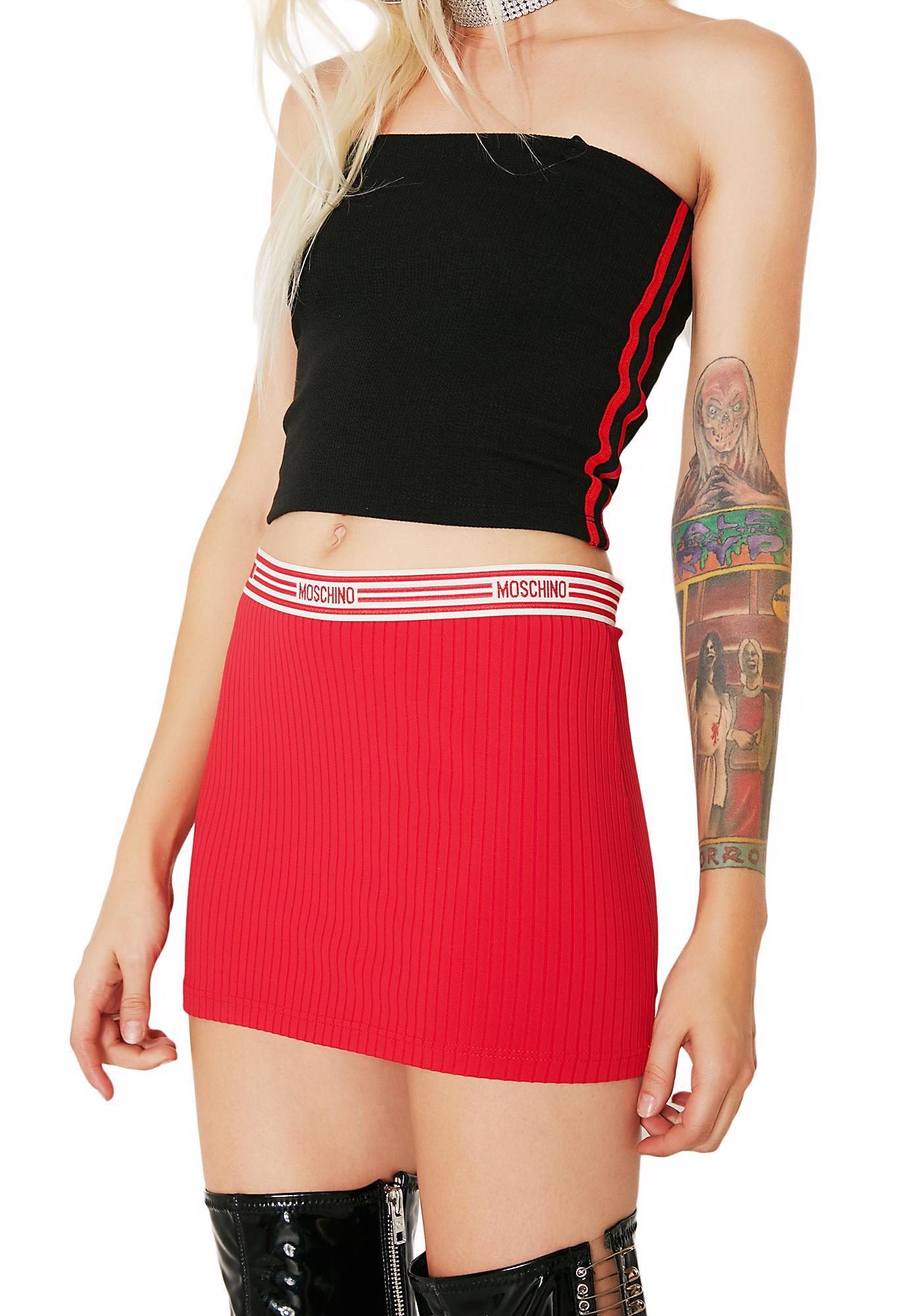 Vintage Moschino Bandage Skirt