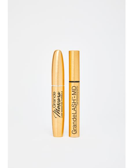 Lash Duo Serum N' Mascara Set