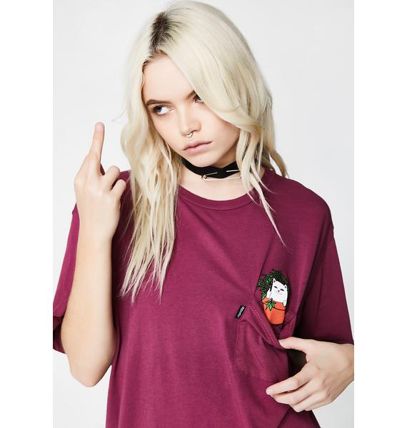 RIPNDIP Cat Nip Pocket Tee