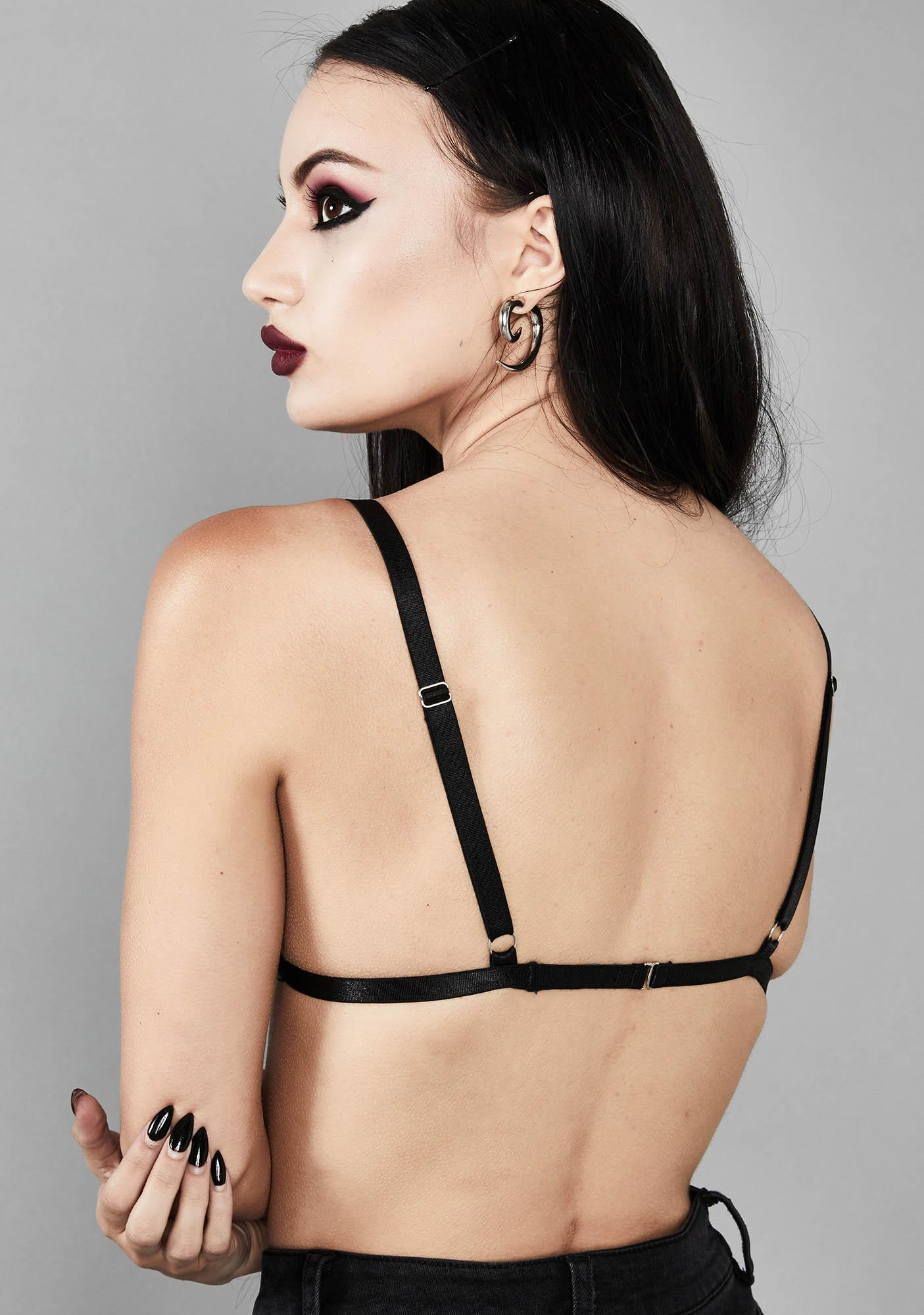 Widow Eternal Fate Pentagram Bra