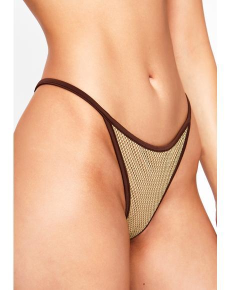 Khaki Alula Bikini Bottoms