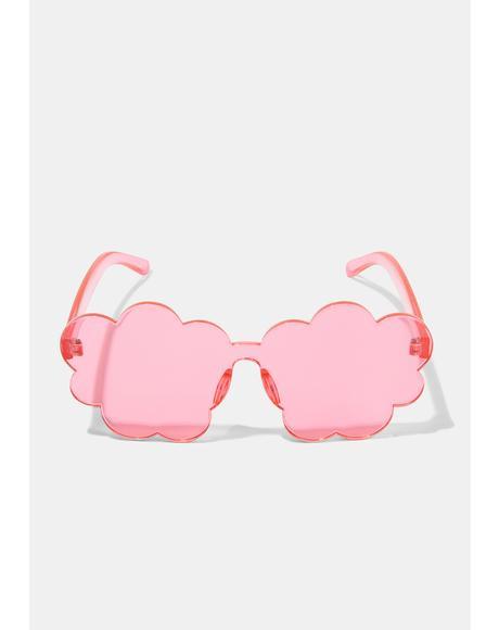 Sweet Cloud Nine Clear Sunglasses