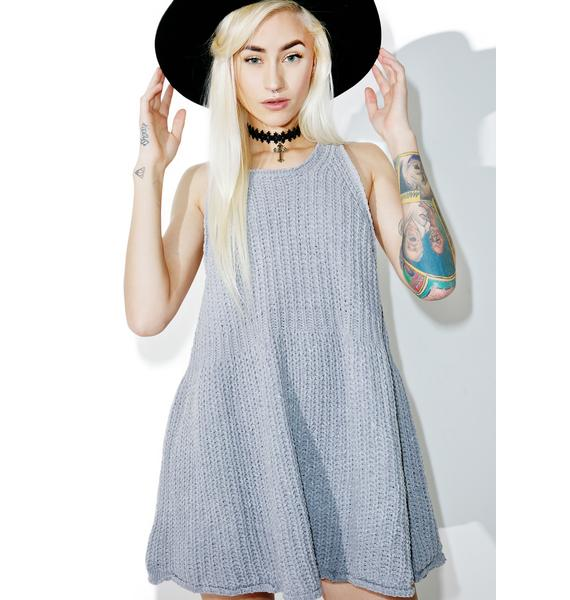 Vision Knit Swing Dress