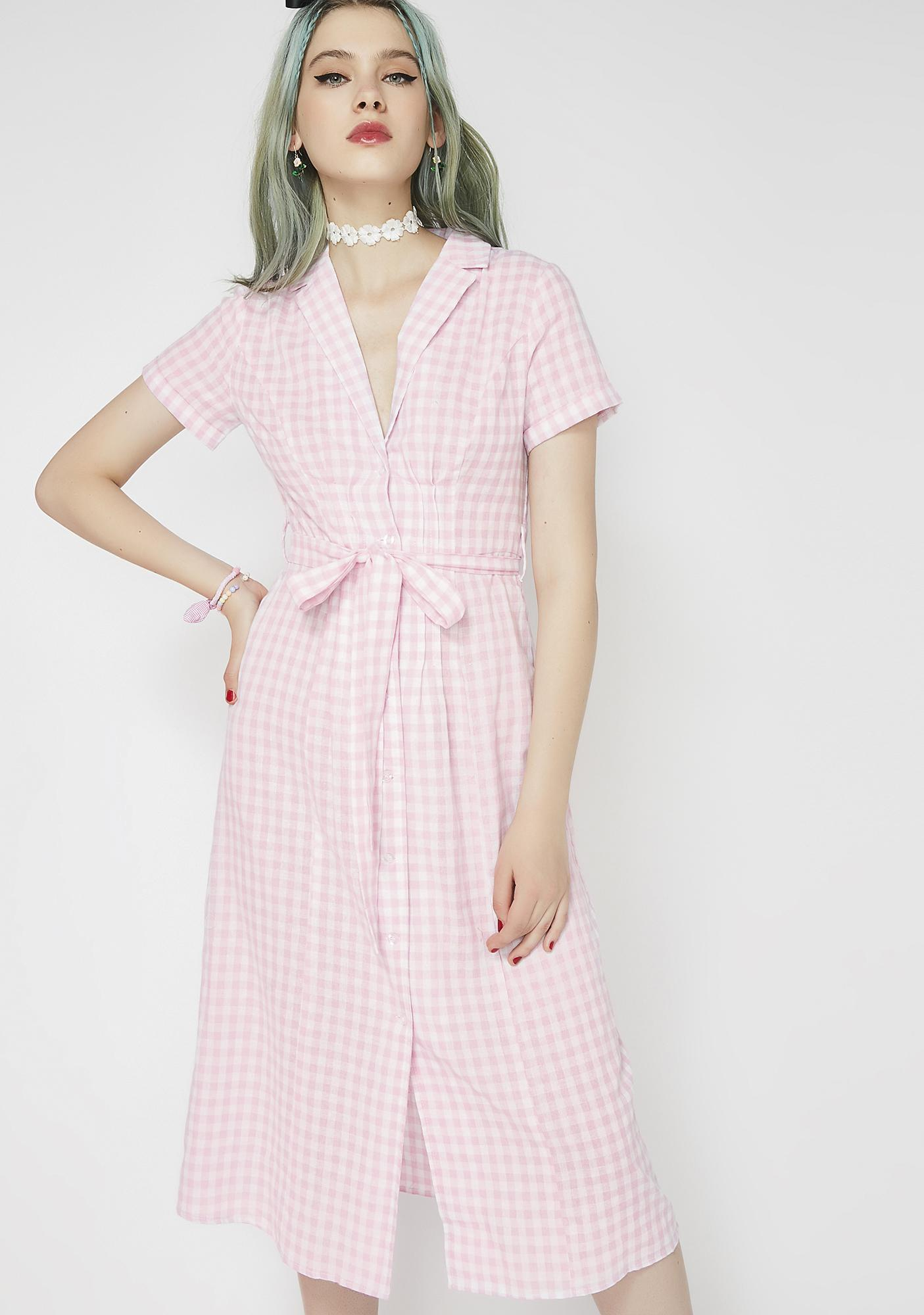 Girl Talk Shirt Dress