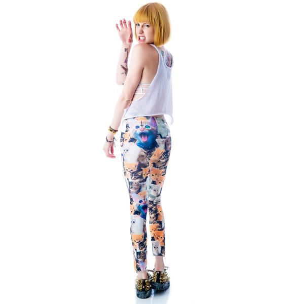 Krazy Kittens Leggings