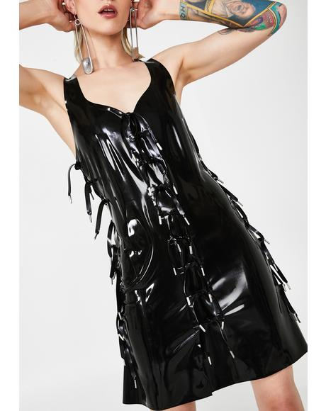 Expando Latex Dress