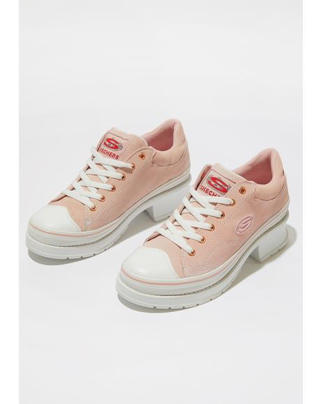 Pink Softy Heartbeats Sneakers
