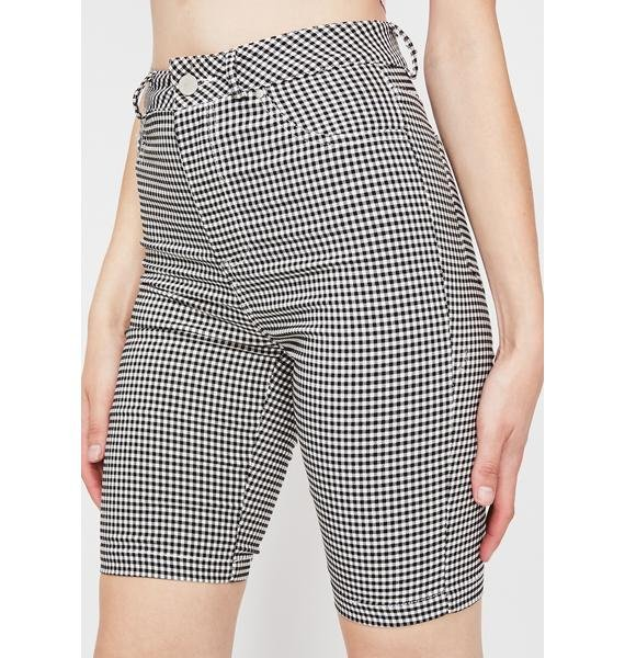 Country High Gingham Shorts