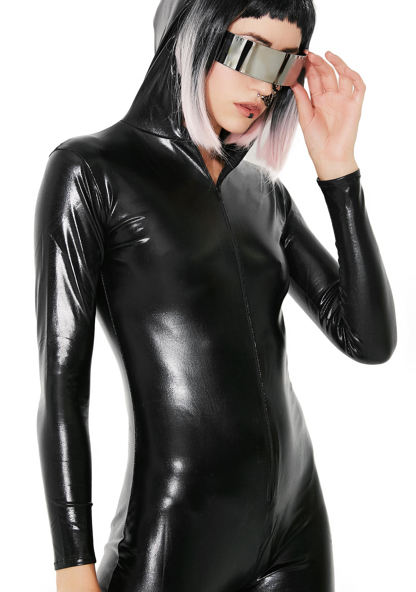 Mission Possible Hooded Catsuit