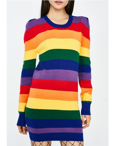 Pride N' Joy Rainbow Dress