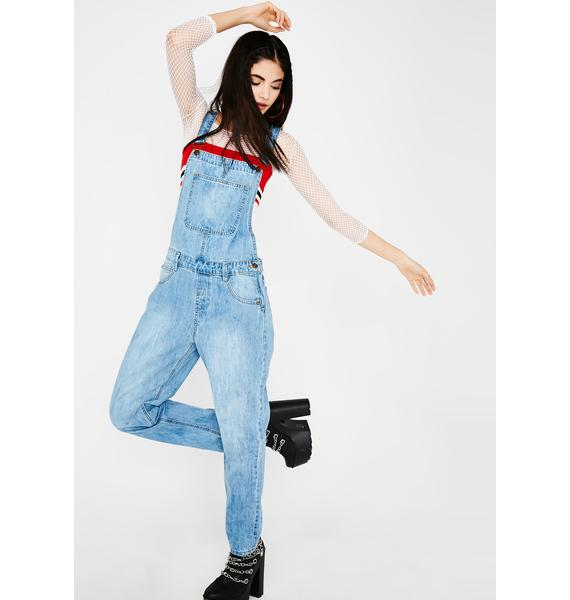 Hard Werk Denim Overalls