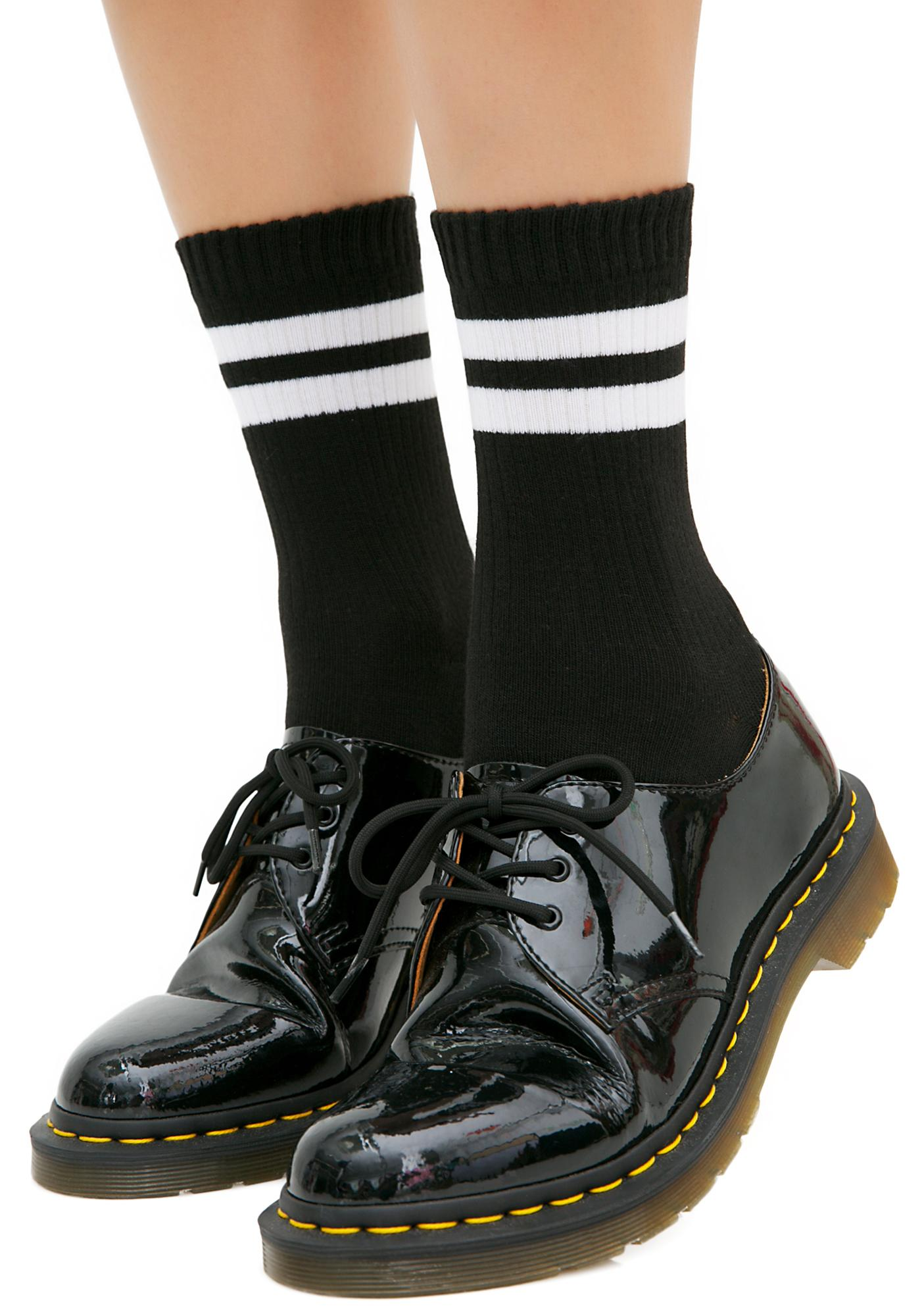 Step On It Striped Socks