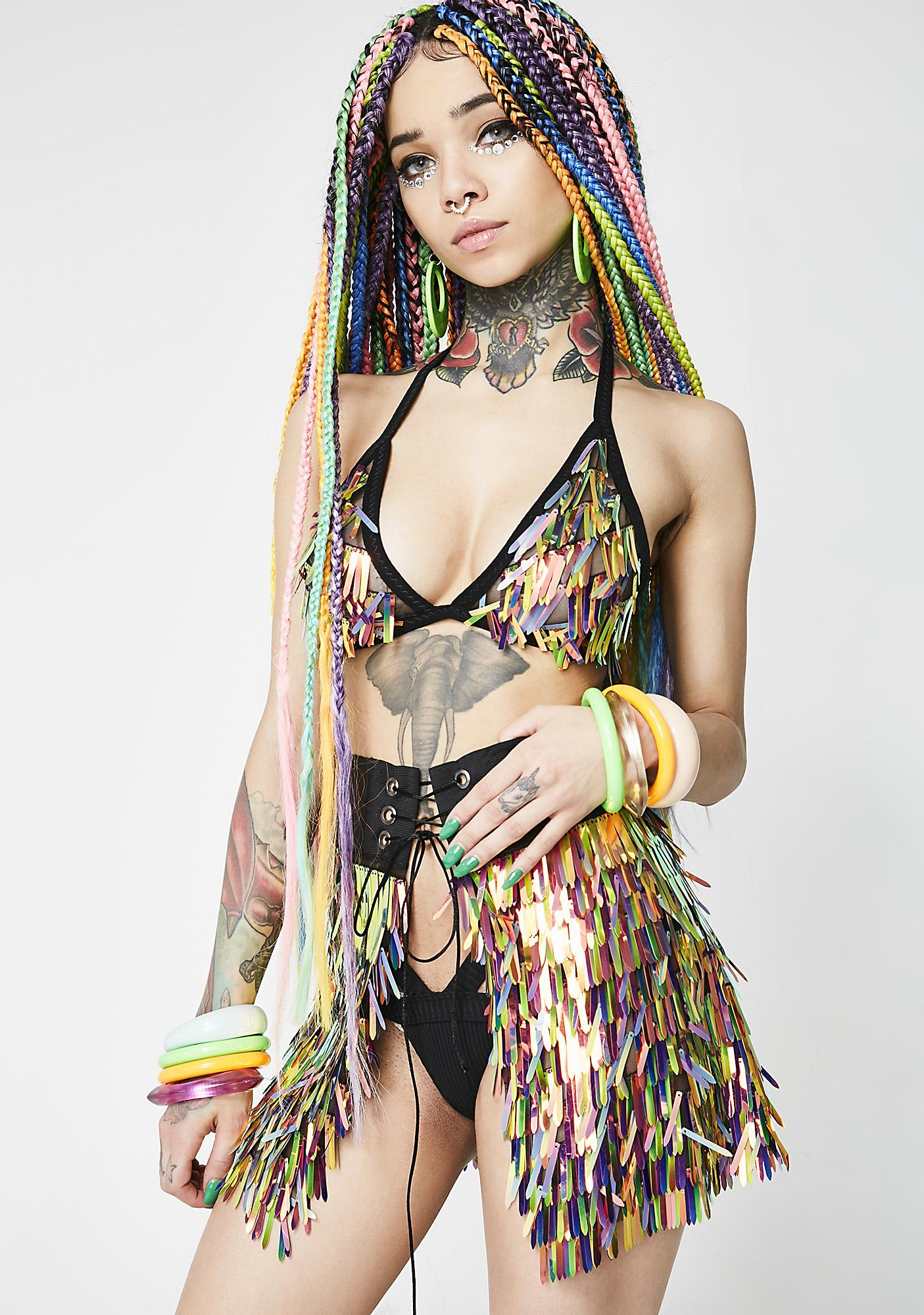 The Lyte Couture Party Monster Skirt