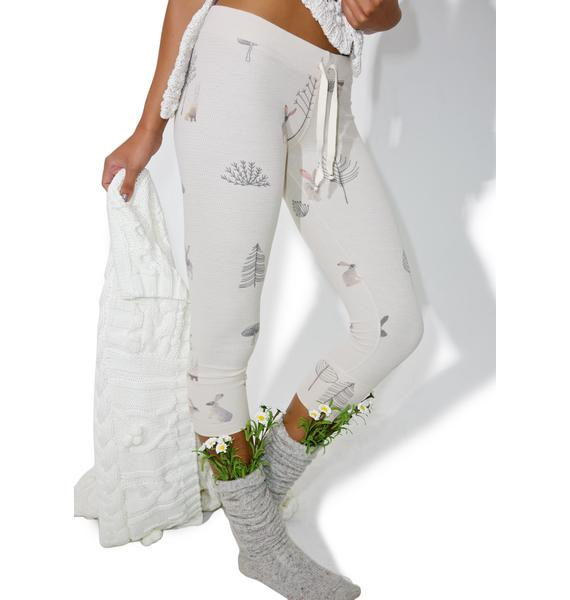 All Things Fabulous Drama Rabbit Thermal Pants