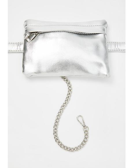 Chrome Not Ur Concern Belt Bag