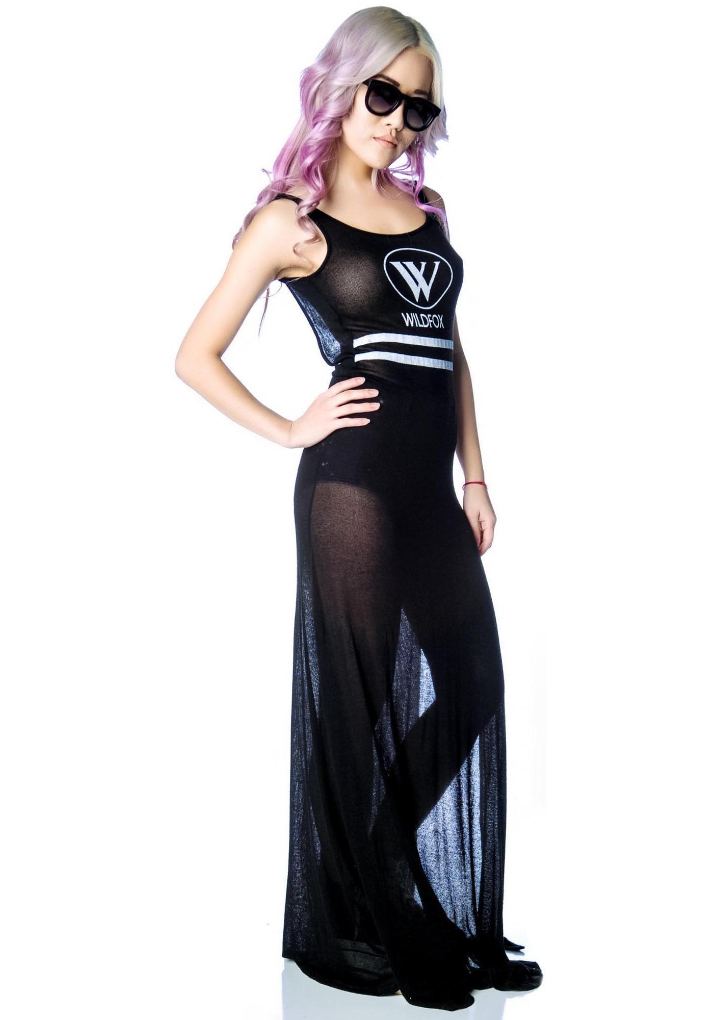 Wildfox Couture Yacht Club Maldives Maxi Dress