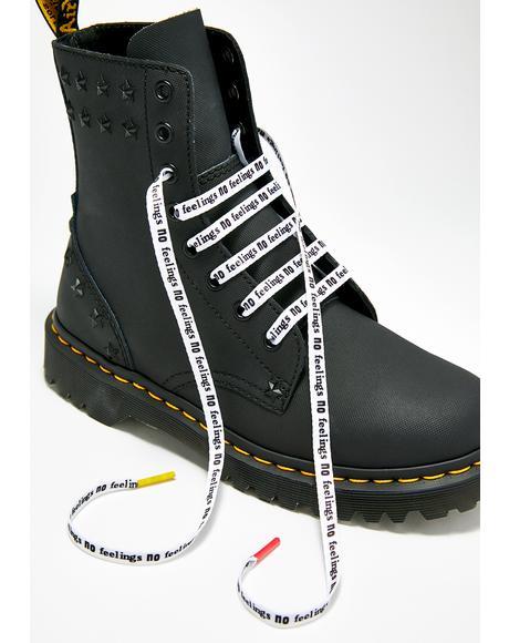 Sex Pistols Flat Shoe Laces