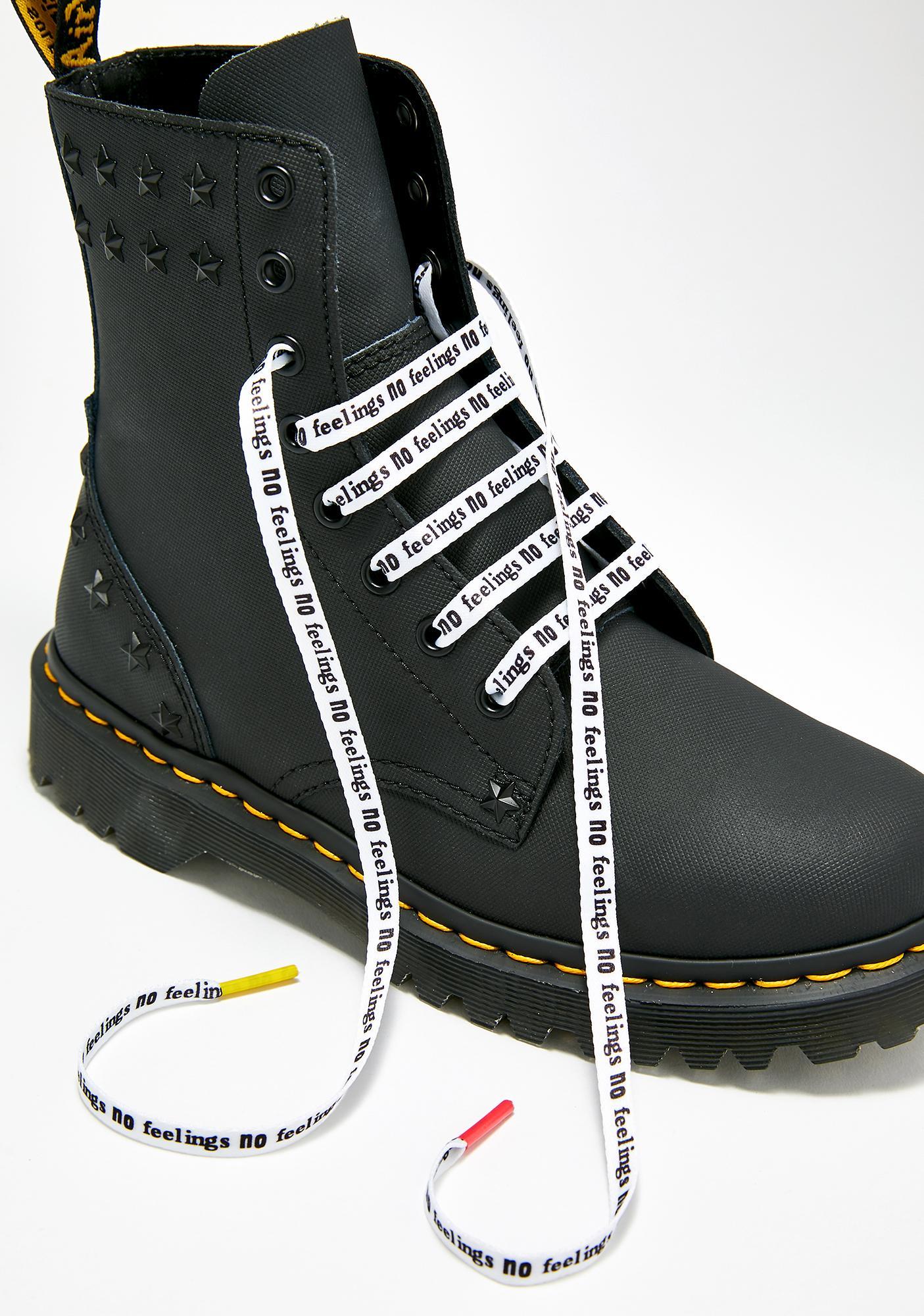 9c2da540b17bc Dr. Martens Sex Pistols Flat Shoe Laces | Dolls Kill