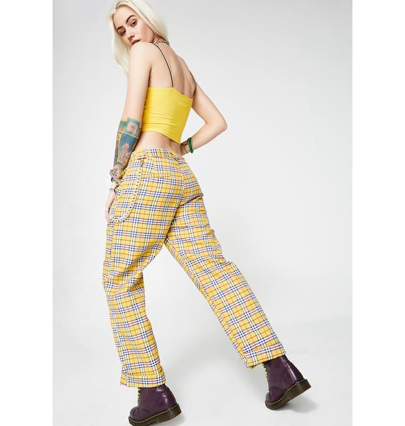 O Mighty Clueless Yellow Pants