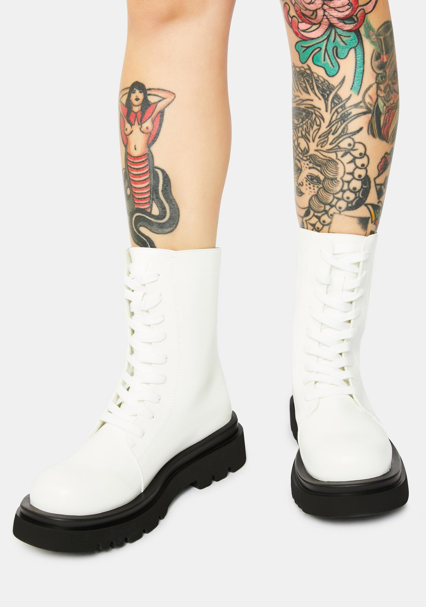 Pure The Takedown Lace-Up Combat Boots