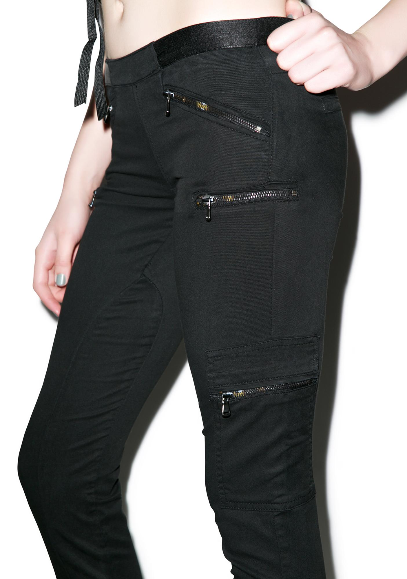 Blank NYC Talk To The Hand Skinny Jeans